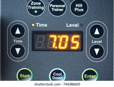 Treadmill modern digital control panel-trainer