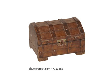 Treasure Chest, closed and latched