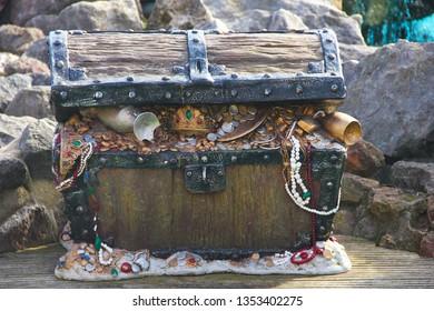 Treasure chest full of loot