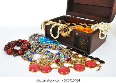 Treasure Chest and Jewelry