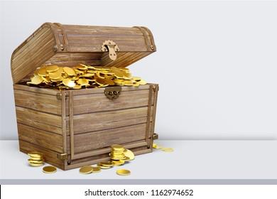 Treasure Chest on desk