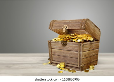 Treasure Chest on desk
