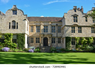 The Treasurer's house with a garden in York