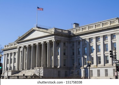 Treasury Department Building, Washington, DC, USA