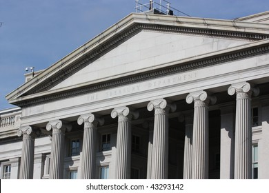 Treasury Department Building, Washington, D.C., USA