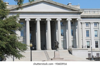 The Treasury Department in Washington, DC,  United States