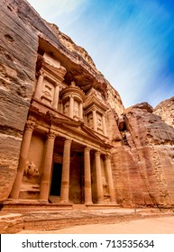 The Treasury in Jordan, Petra