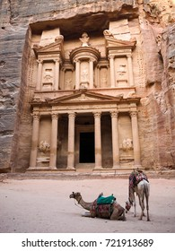 The Treasury at Petra Before the Crowds Enter