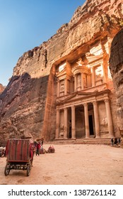 The Treasury, Petra one of the new Seven Wonders of the world, Jordan