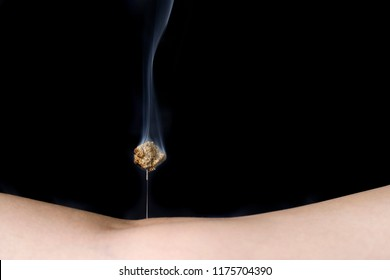 Treatment and moxibustion