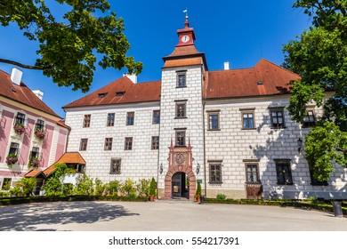 Trebon Castle - Trebon, Czech Republic, Europe