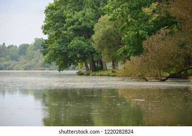 Trebon pond early in the morning before the storm. A beautiful place for the holidays.