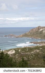 Trece Beach; Costa de la Muerte; Galicia; Spain