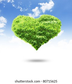 tree heart shape for your design