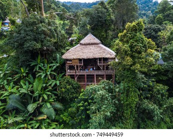 Tree House hideaway at Mae Me in Chiang Mai, Thailand.