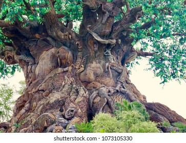 The tree of life at Animal Kingdom