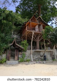 treehouse in ElNido town, Palawan, Philippines