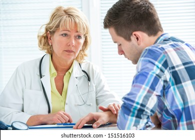 treenager suffering with depression in a conversation with a therapist