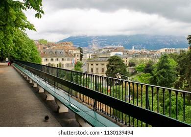 Treille Bench, Geneva, Switzerland