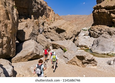 Trek in Wadi Bani Khalid - Sultanat of Oman