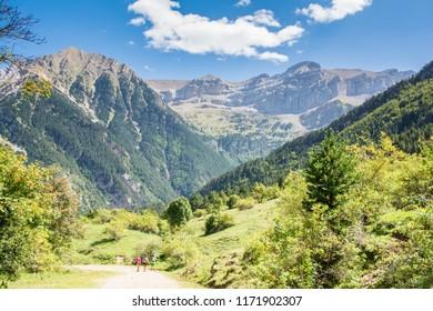 Treking in National Park Ordesa, Spain