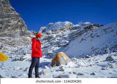 Treking in Nepal EBC and Lobuche peak