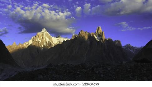 Trekking Adventure in the Karakorum Mountains, Baltoro Glacier,