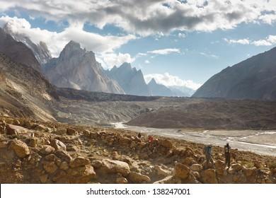 Trekking Adventure in the Karakroum Mountains in Pakistan