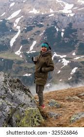 Trekking in the Alps. Grossglockner High Alpine Road
