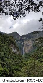 Trekking to Gocta waterfall