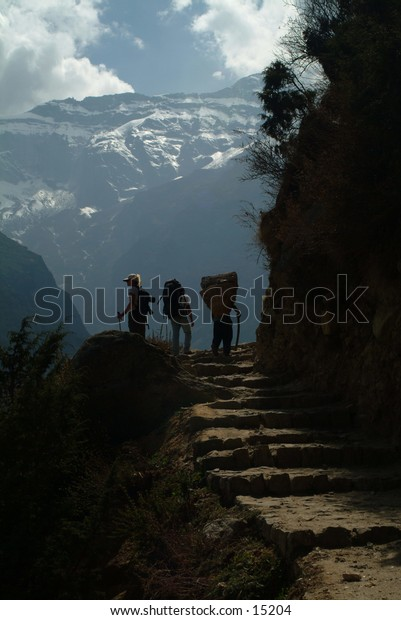 Trekking in the High Himalayas 3