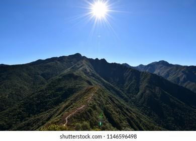 trekking on Mountains of Serra Fina
