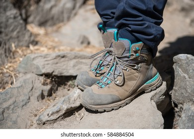trekking shoes for hiking the mountain, footwear