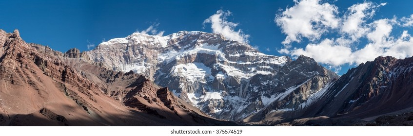 A trekking trip to the Plaza Francia, South Face of Aconcagua