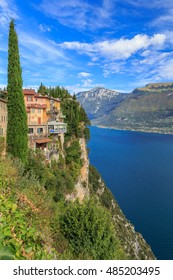 Tremosine over Lago di Garda
