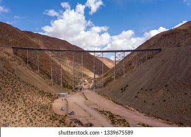 Tren A Las Nubes, La Polvorilla viaduct, near San Antonio De Los Cobres, northwest of Argentina