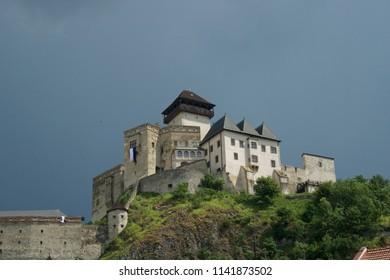 Trencin Castle Grounds, Slovakia