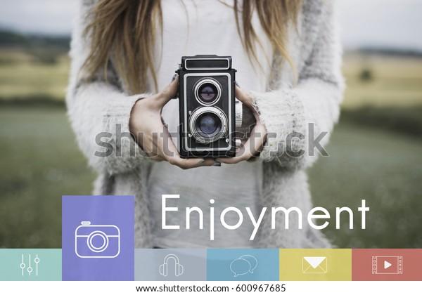 Trend Camera Lifestyle Freedom Enjoyment
