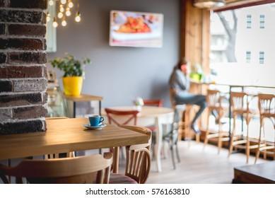 Trendy restaurant ,cafe