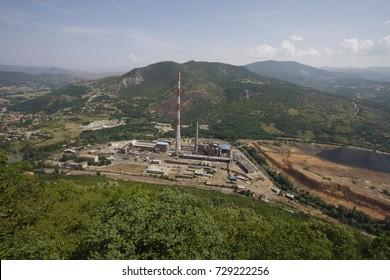 Trepca Mines, North Mitrovica, Kosovo