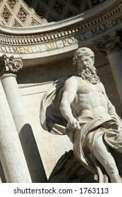 Trevi Fountain Close-up