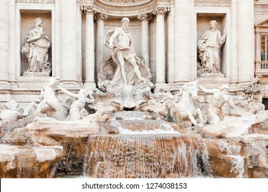 Trevi Fountain - Fontana di Trevi - in Rome, Italy