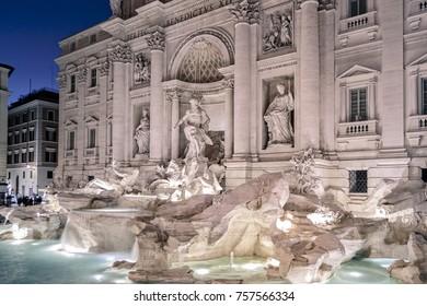 trevi fountain of rome