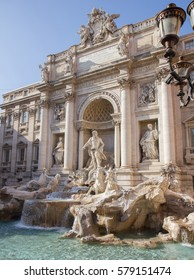 Trevi Fountain in Rome, Italy / March 1, 2012