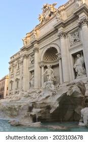 Trevi Fountain, Rome, Italy on 01.09.2019.