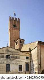 TREVISO. VENETO REGION. ITALY. 03 MAY 2012 : Palazzo dei Trecento in Treviso. Veneto region. Italy