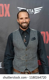 """Trevor Butcher attends  Skyline Entertainment's  """"The ToyBox"""" Los Angeles  Premiere at Laemmle's NoHo 7, North Hollywood, California on September 14th, 2018"""