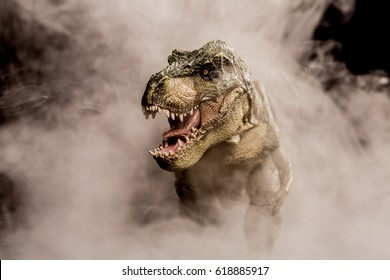 T-rex in the fog
