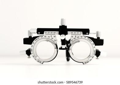 Trial frames, eye equipment