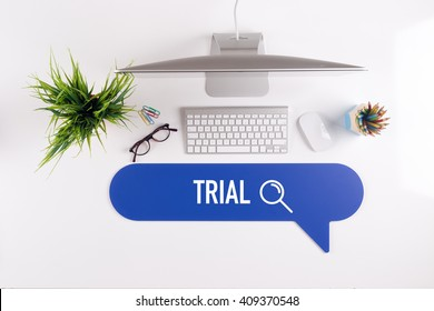 TRIAL Search Find Web Online Technology Internet Website Concept